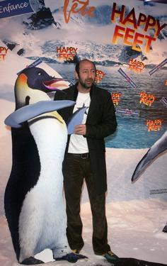 Kad Merad at the premiere of &quot;Happy Feet.&quot;